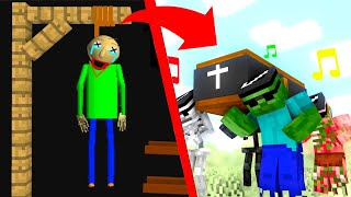 Coffin Dance Meme in Monster School #3 - Minecraft Animation