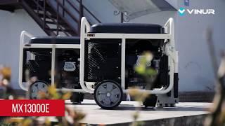 Обзор бензинового генератора 9 кВт Matari MX13000E