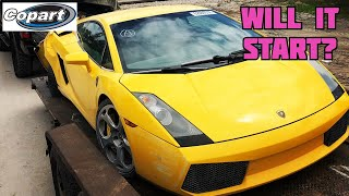 Rebuilding a wrecked Lamborghini from Copart PART 2