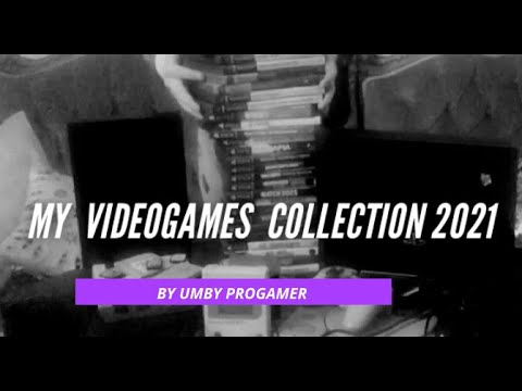 My videogames collection 2021