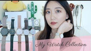 我的小众手表分享My watch collection MarcBale PeachBox DW MVMT Mockberg