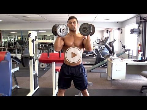How To Squat Push-Press - Cardio Workout - Fat Burning Workout Tips