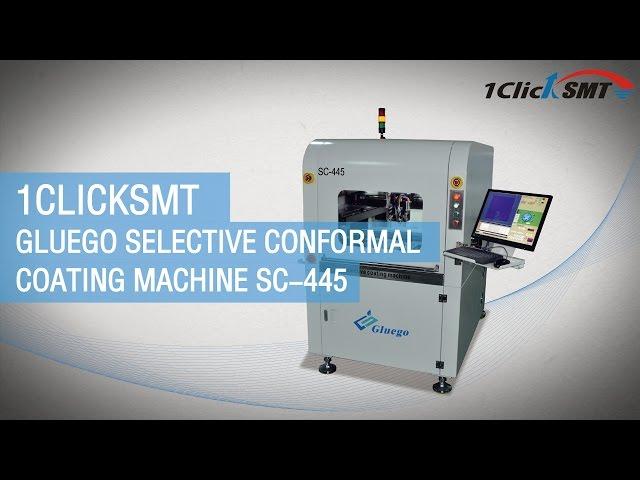 1Clicksmt Gluego selective conformal coating machine SC-445