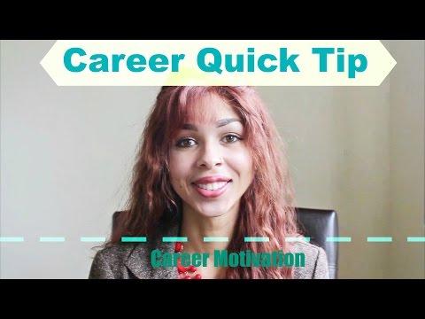 A Quick MilSpouse Career Tip: Motivation