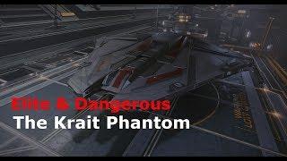 Krait Phantom - Elite Dangerous After Dark - DigThat32