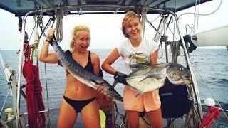 Catching Fish Like Crazy!- Sailing SV Delos Ep. 71