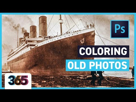 🚢 Coloring Old Photos | Photoshop CC Tutorial #105/365