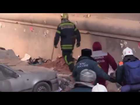 Rescuers have pulled an infant boy alive from the rubble of a Russian apartment building collapse that killed at least seven people and left dozens missing. (Jan. 1)