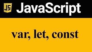 var let and const Keywords in JavaScript (Hindi)