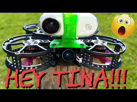 ¡¡HEY TINA!! UN DRONE QUE VAS A QUERER VOLAR...