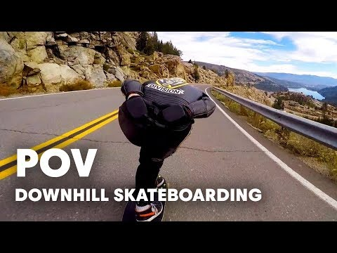 Downhill Skateboarding at Cannibal Canyon | GoPro View