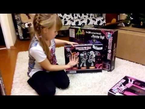 Monster High посылка из США. Обзор.