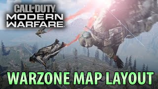 Modern Warfare Warzone (Battle Royal) Map Layout, 200 Player Lobby, Revive System