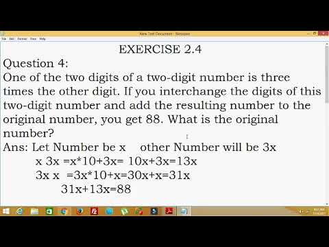 Happyclass - Linear Equations in one Variable, Mathematics