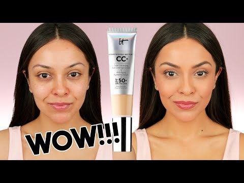 IT COSMETICS CC CREAM FIRST IMPRESSION! I finally tried it and OMG! - TrinaDuhra