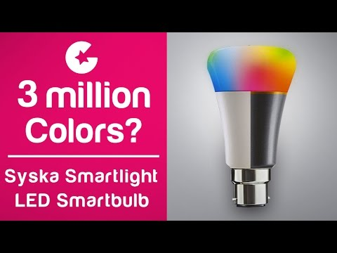 Syska Smartlight Rainbow LED Smart Bulb – Unboxing and Review
