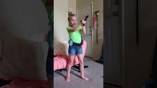 The Firearm Princess || ViralHog