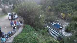 preview picture of video 'Visita al Vertedero Al borde del precipicio'
