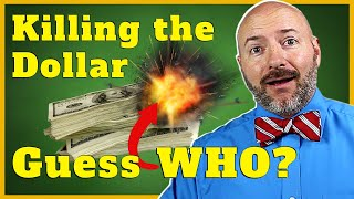 3 Best Investments for the Coming Collapse in the Dollar