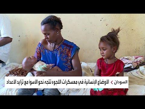 العرب اليوم - مأساة إنسانية بمعسكرات الفارين من تيغراي