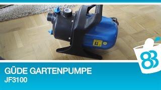 Güde Gartenpumpe JG 3100 Wasserbett Pumpe