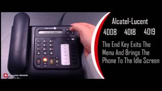 Alcatel-Lucent IPTouch 4008, 4018, 4019 Overview for the OmniPCX Office System