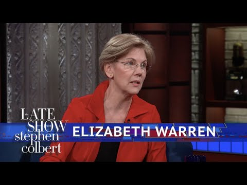 Senator Elizabeth Warren Reacts To Sexual Harassment On Capitol Hill