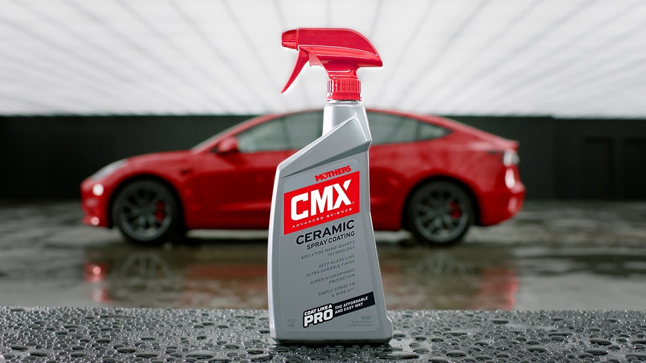 Mothers Polish -- 2019 CMX Ceramic Spray Coating (30 seconds)