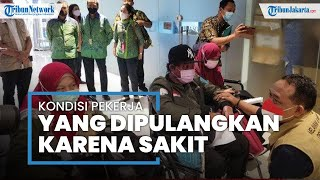 3 PMI Dipulangkan ke Indonesia, Satu Diantaranya Luka Bakar Hampir Setengah Badan