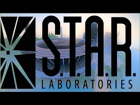 STAR LABS THE FLASH Map Modded Minecraft Project - Coole maps fur minecraft 1 10 2