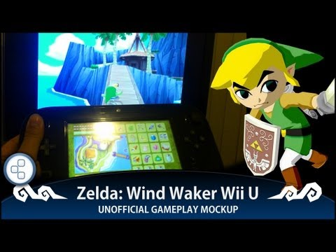Unofficial Mock-Up Shows What Wind Waker Could Look Like On The Wii U