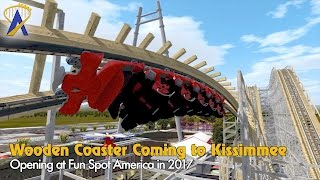 Wooden Roller Coaster Coming To Fun Spot America Kissimmee In 2017