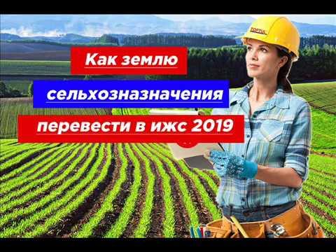 Как землю сельхозначения перевести в ИЖС в 2019 году