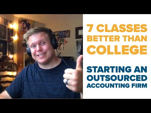 Start a Bookkeeping & Tax Firm with 7 Classes & Training