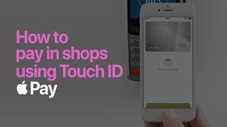 Apple Pay – pay with Touch ID in stores