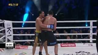 K-1 World GP 2013 Badr Hari vs Zabit Samedov (Zagreb) 15.03.2013 HDTV