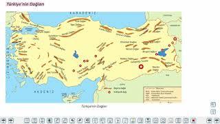 Eğitim Vadisi 10.Sınıf Coğrafya 6.Föy Türkiye'nin Yer Şekilleri 1 Konu Anlatım Videoları