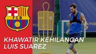 Khawatir Waktu Suarez Semakin Tergerus, Messi Peringatkan Keputusan Managemen Barcelona