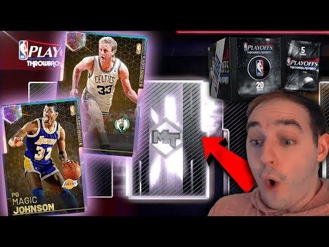 NBA 2K19 My Team GALAXY OPAL LARRY BIRD & MAGIC IN PACKS! I NEED THEM!!!