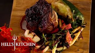 Gordon Ramsay Loving The Food!   Hell's Kitchen   Part One