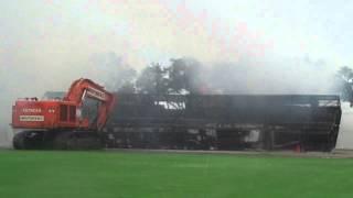 Florida Citrus Bowl 2014 Demolition (raw footage)