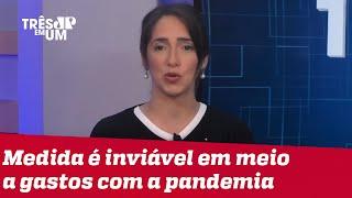 Bruna Torlay: Bolsonaro tem obrigação moral de vetar o fundo partidário