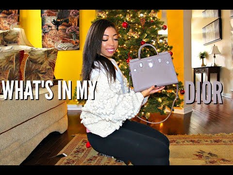 WHAT'S IN MY BAG – DIOR DIOREVER + REVIEW – Worth it or not? | VLOGMAS DAY 11