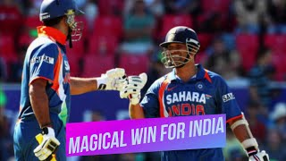 Magical win for India against New Zealand at Christchurch 3rd ODI 2009 Highlights