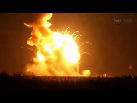 Συντριβή πυραύλου της NASA αμέσως μετά την εκτόξευση [video]
