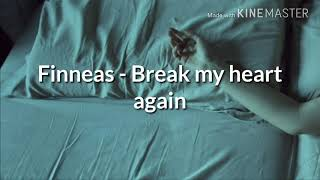 Finneas   Break My Heart Again [Sub Español +lyrics]