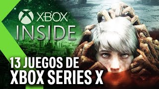 13 JUEGOS de Xbox Series X: Todo sobre el XBOX INSIDE