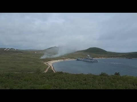 """Rusia cierra las maniobras """"Vostok"""" con desembarco cerca de Corea del Norte"""