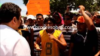 preview picture of video 'ProgresoHoy.com -- Pepineros Vs Antimotines en Progreso'