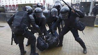 Протесты в Беларуси: сотни участников задержаны